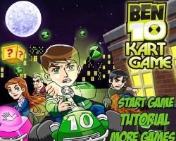 ben 10 kart game
