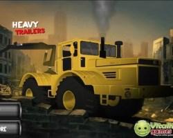heavy trailer