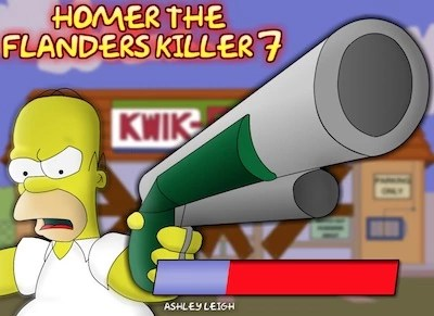 Homer and Flanders Killer 7