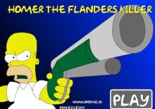 Homer and Flanders Killer 1