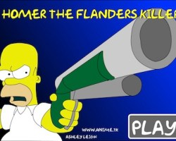 homer and flanders