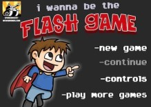 I wanna be the flash game