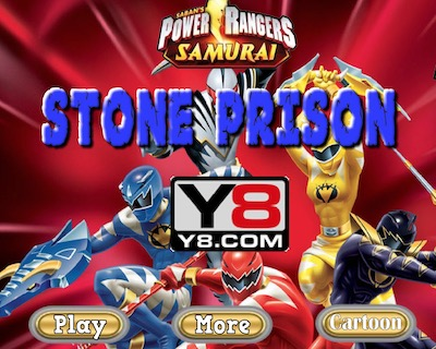 Power Rangers Stone Prison