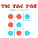 Tic Tac Toe Colors Game