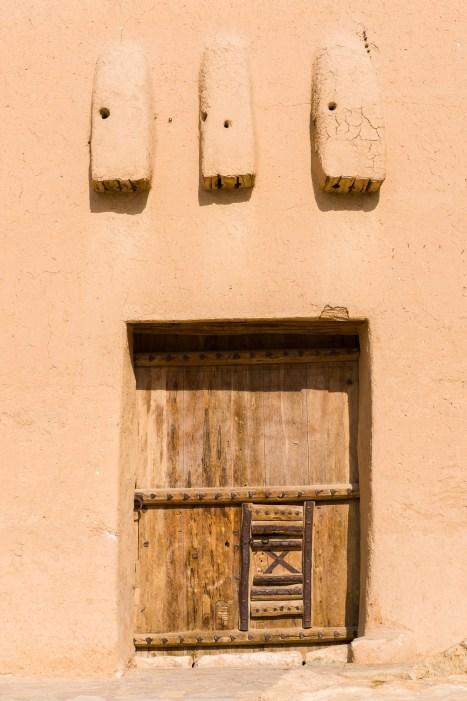 Masmak Palace Museum door