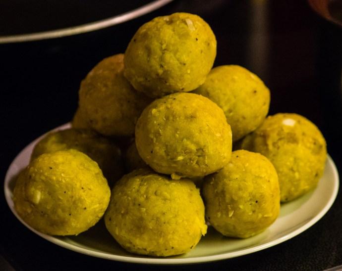 Trifongo balls