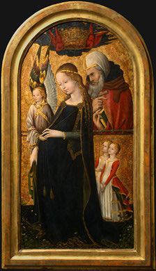 The Expectant Madonna with Saint Joseph, 15th century French, National Gallery of Art, Samuel H. Kress Collection