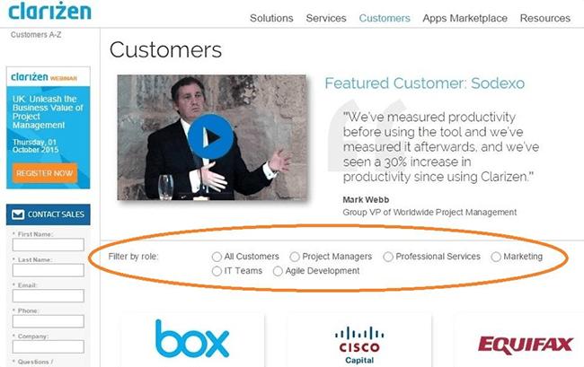 clarizen customer stories