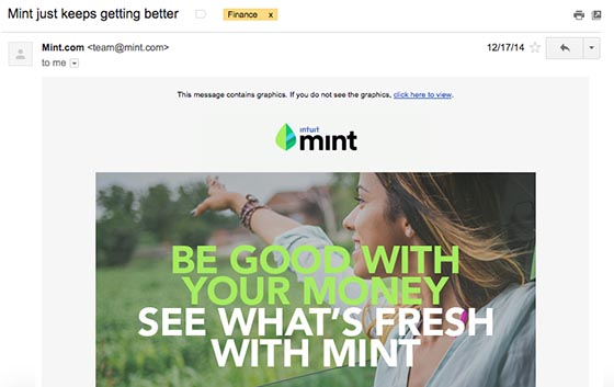 Mint retention email-560