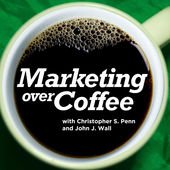 Marketing Over Coffee podcast cover art