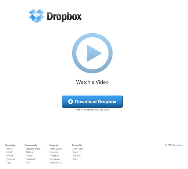 Dropbox video