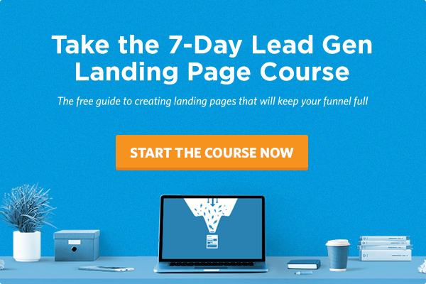 The 7-Day Lead Gen Landing Page Course