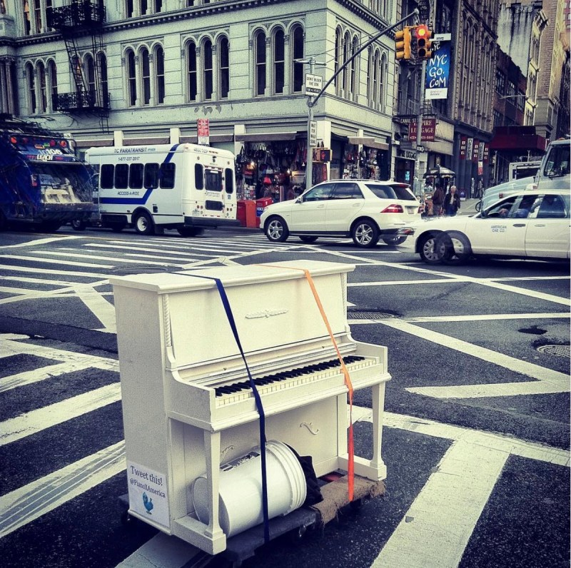I've gone through about 30 pianos over the course of 7 Years. Some of which I only had for a few weeks before flipping it on Craigslist. – Dotan Negrin, Piano Around the World