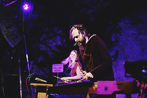 Joel Laviolette and Rattletree - Photo by Ismael Quintanilla III