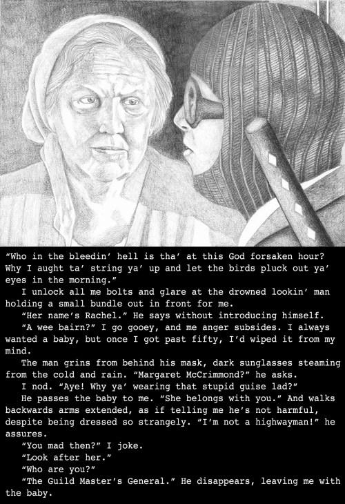 Margaret's back story, set on The Isle of Skye, Scotland (3993)