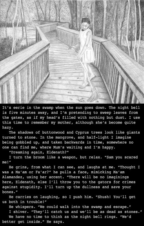 Eldenath's back story, set in Louisiana USA, (4039)