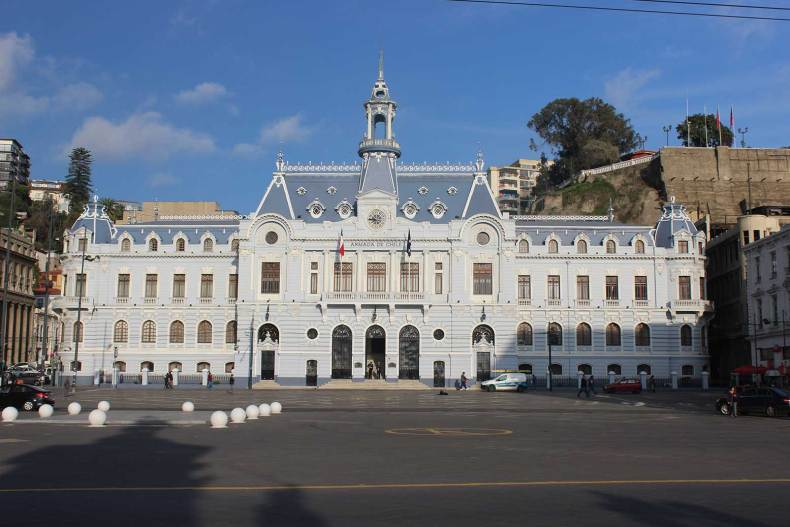 Headquarters of the Chilean Navy