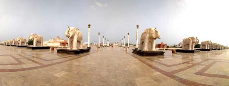 Ambedkar Park Elephants Samajik Parivartan Prateek Sthal Lucknow