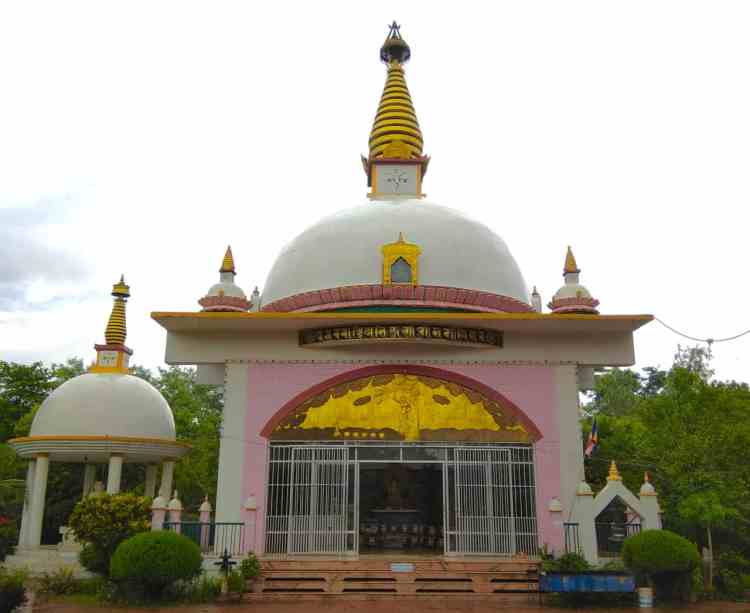 Gautami International Nuns' Temple Lumbini Nepal Tourism Travel
