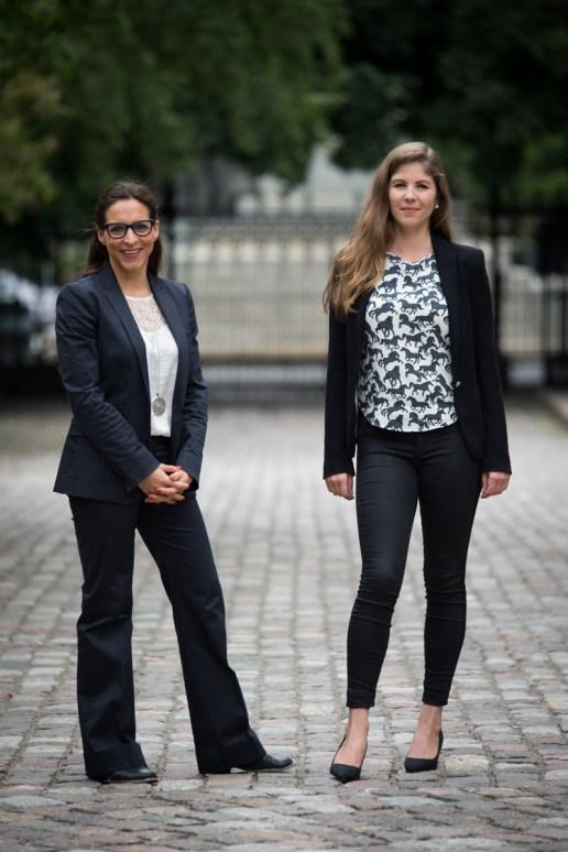 Alanna Devine and Sophie Gaillard