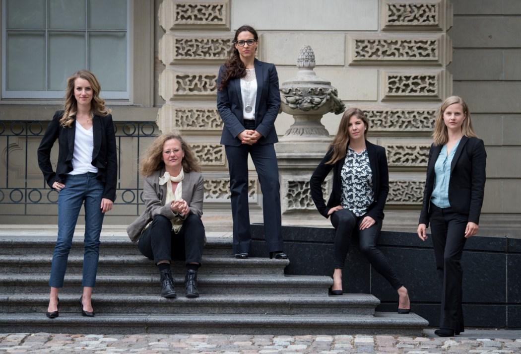 Camille Labchuk, Lesli Bisgould, Alanna Devine, Sophie Gaillard, Anna Pippus