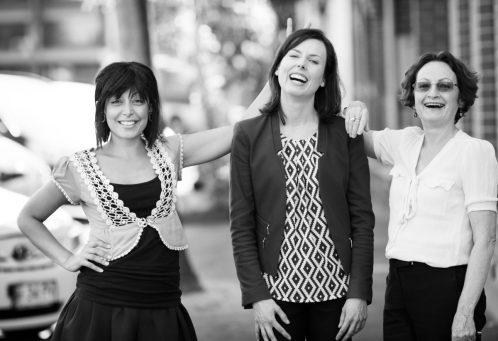 L-R: Shatha Hamade, Lisa Chalk, and Glenys Oogjes.