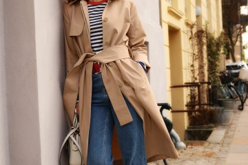 The classic trench coat