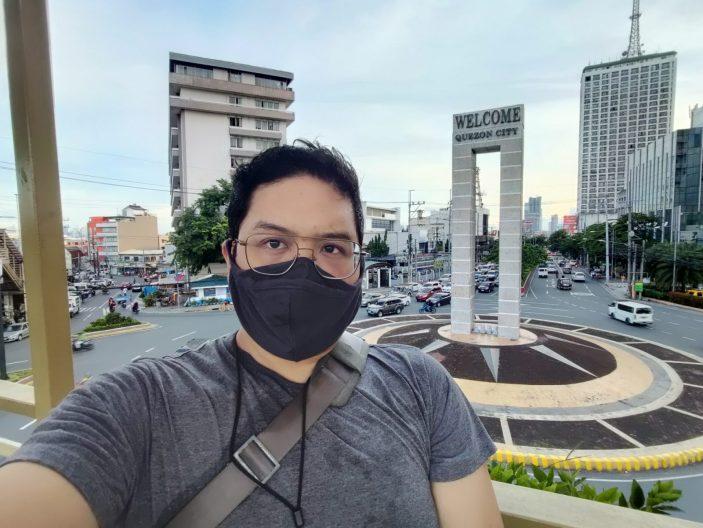 Selfie Ultra-wide-angle camera