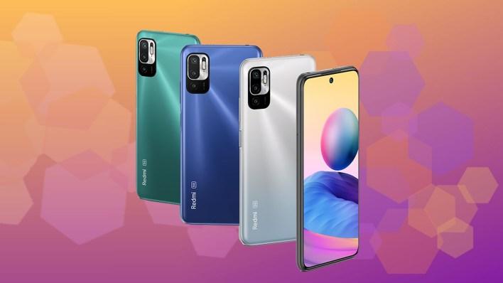 Redmi Note 10 5G four colors