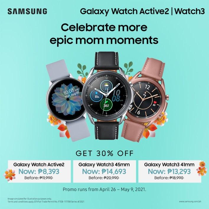 Nag-aalok ang Samsung Mother's Day ng Galaxy Watch
