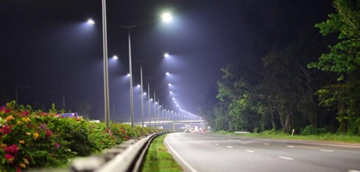 Binigyan ng NLEX Corporation ang SCTEX ng isang pag-upgrade sa LED
