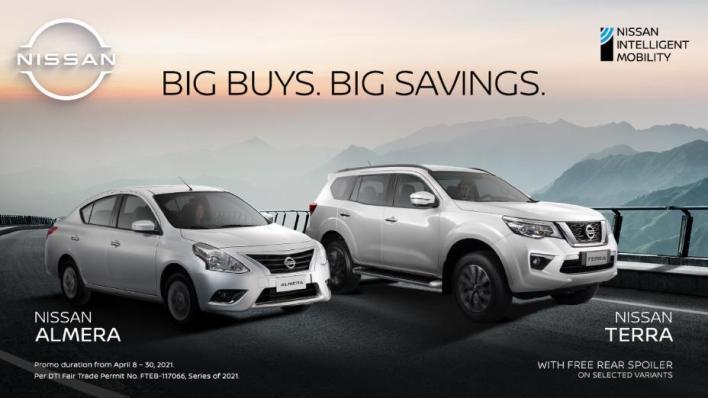 Nissan Big Buys Big Savings Promo