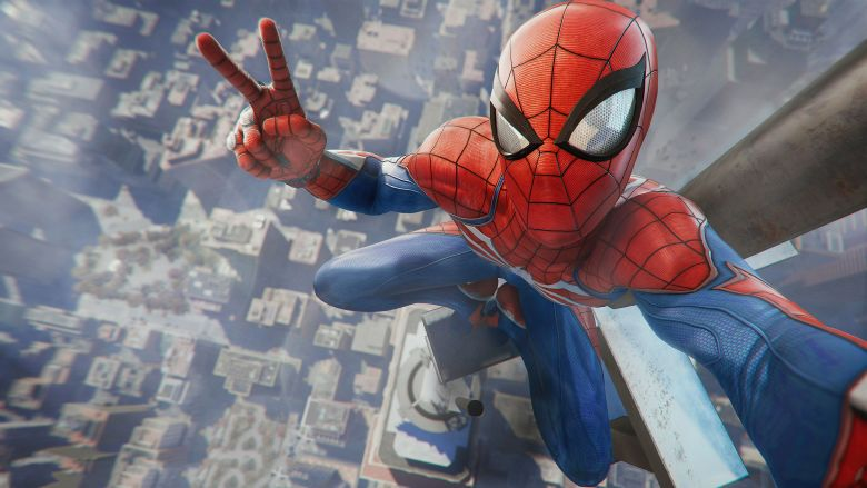 New spiderman game