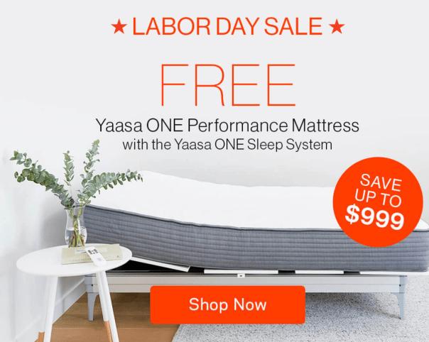 Yaasa labor day sale