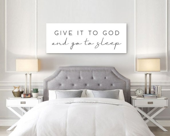 give it to God wall hanging