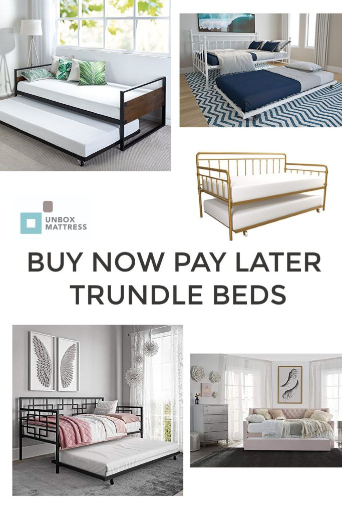 trundle bed buy now pay later