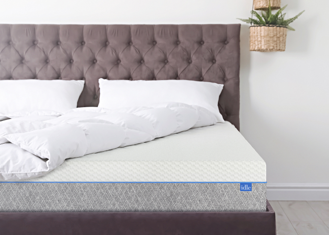 Idle gel memory foam mattress