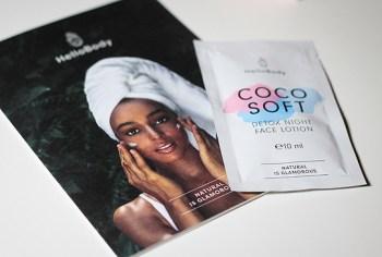 Hello Body - Coco Soft Detox Night Face Lotion