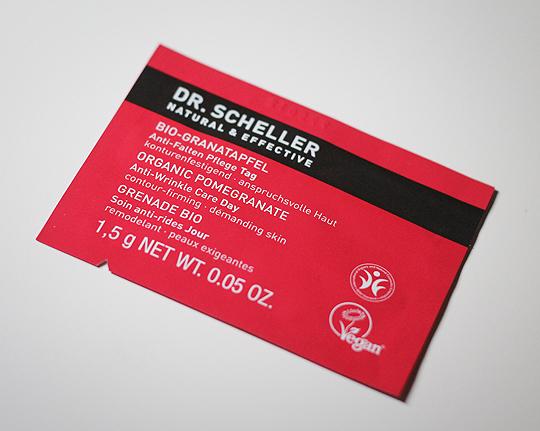 Goodie: Dr. Scheller - Bio Granatapfel Anti Falten Tagescreme