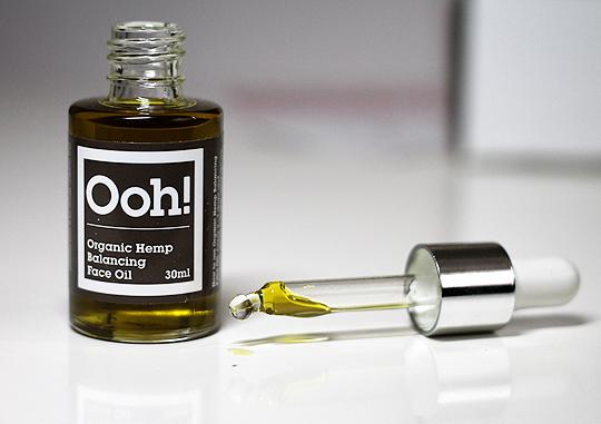 Ooh! Organisches Hanföl