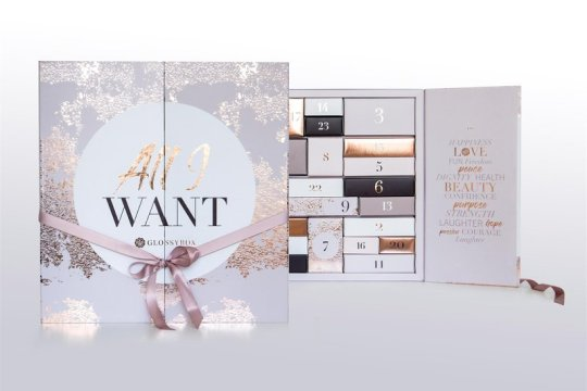 Glossybox Adventskalender 2018: All I Want
