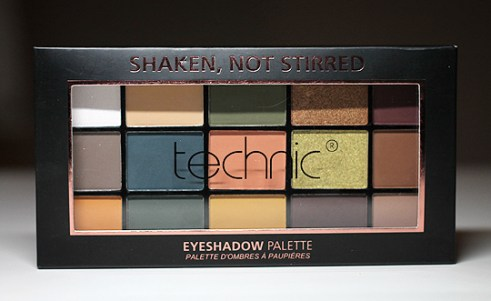 "Technic ""Shaken, Not Stirred"" Lidschattenpalette"