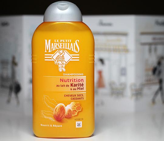 Le Petit Marseillais Shampoo Nutrition mit Shea Butter und Honig