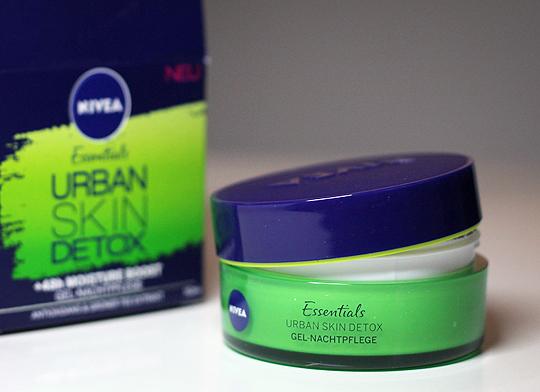 Essentials Urban Skin Detox Gel-Nachtpflege