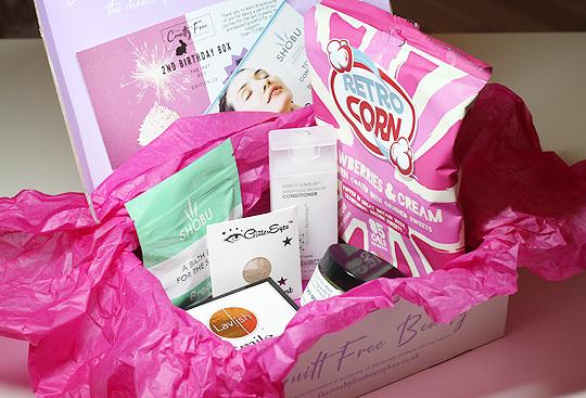Happy Birthday Cruelty Free Beauty Box!