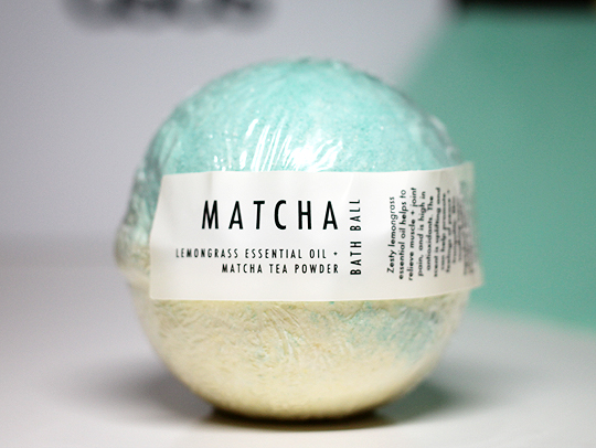 Miss Patisserie - Matcha Bath Ball
