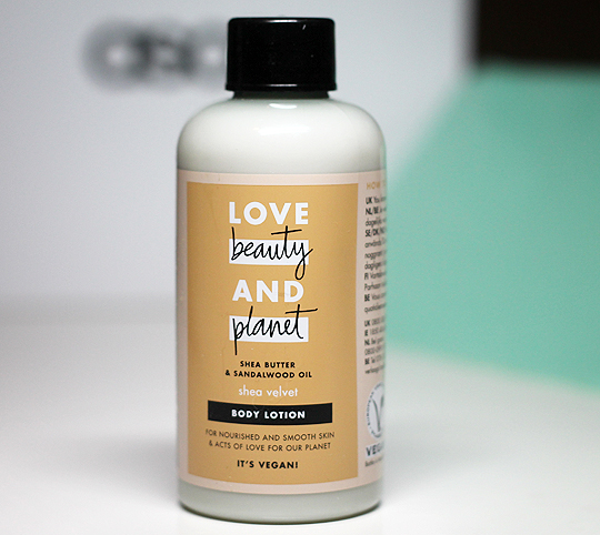 Love Beauty and Planet - Shea Velvet Body Lotion