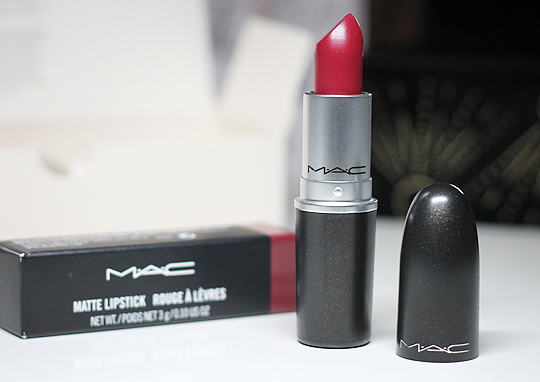 "(MAC) Matte Lipstick in ""D for Danger"""