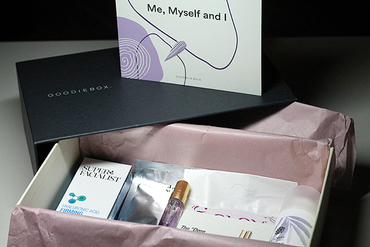 Goodiebox Jänner 2020 - Me, Myself and I