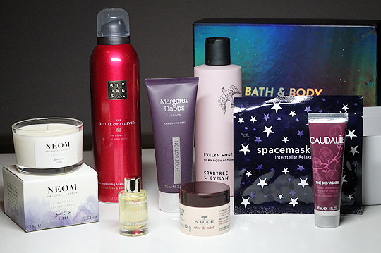 Die Feelunique Bath & Body Box